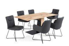 Craft von Wöstmann S-Kultur - Essgruppe mit Esstisch & 6 Stühlen