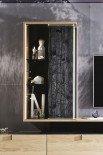 V-Aura living von Voglauer - Wohnwand 183 Eiche/ schwarze Lärche