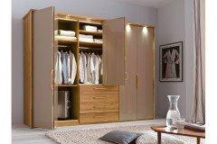 Torino von Wiemann - Schlafzimmer Eiche - Glas - Spiegel