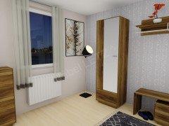 garderobenschrank maisonette in wei asteiche von. Black Bedroom Furniture Sets. Home Design Ideas