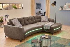 ideal m bel wohnwand kattia 07 wei wotan eiche m bel. Black Bedroom Furniture Sets. Home Design Ideas