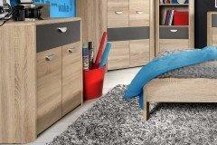black red white boxspringbett bilbao bale anthrazit mit. Black Bedroom Furniture Sets. Home Design Ideas