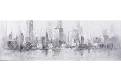 Skadi von Lebenswert - Wandbild Skyline