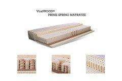 Prime Spring von VitalWOOD® - Latex-Matratze mit Holz-Federkern