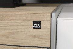 Die Hausmarke Media Design - Wohnwand inklusive Beleuchtung
