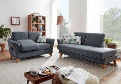 S338 Lima von Ponsel - Sofagruppe blau