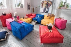 my cushion von Infanskids - In- & Outdoor Kindersofa bunt 6-teilig