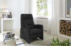 Cosy-Line von Polipol - Relaxsessel anthrazit