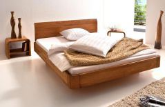 hasena oak line bett xylo eiche cognac m bel letz ihr online shop. Black Bedroom Furniture Sets. Home Design Ideas