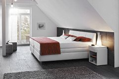 ruf santino boxspringbett in beige schwarz m bel letz ihr online shop. Black Bedroom Furniture Sets. Home Design Ideas